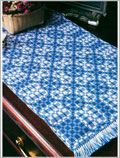 Download Waffle Weave Crochet Blanket Pattern Free Tutorial in