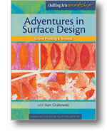 Custom Fabric Mark Making: Adventures in Surface Design