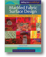 Fabric Painting Workshop: Marbled Fabric Surface Design