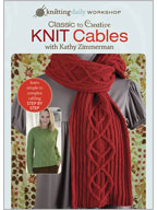 How to Cable Knit: Classic to Creative Knit Cables with Kathy Zimmerman