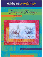 Quilting Arts Workshop: Surface Design Sampler Platter