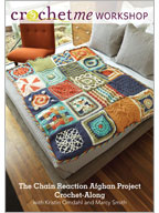 How to Crochet an Afghan: Chain Reaction Afghan Project Crochet-Along Video