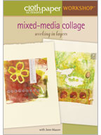 How to Make a Collage in Layers: Mixed-Media Collage Working in Layers Video