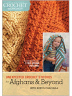 Crochet Blankets with Various Stitches: Unexpected Crochet Stitches for Afghans and Beyond Video
