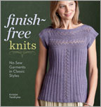 Sweater Knitting Pattern Book: Finish-Free Knits