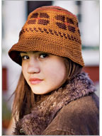 Tapestry Crochet Patterns: Allspice Hat