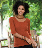 Tunisian Crochet Tunic