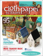 House Craft Ideas: Cloth Paper Scissors, November/December 2011