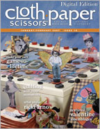 Cloth Paper Scissors, January/February 2007