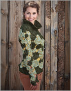 Sweater/Crochet Flower Pattern: Marina Sweater