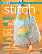 Get fresh sewing patterns including skirts with Stitch Spring 2013