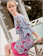 Crochet Flower Patterns: St. Tropez Tunic