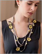 How to Make a Crochet Flower into Jewelry: Traditional Oya
