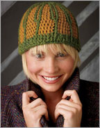 Intarsia Crochet Patterns: Fennel Hat