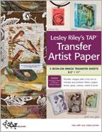 Lesley Riley's TAP Transfer Artist Paper
