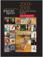 2003-2005 Lapidary Journal Jewelry Artist Collection CD