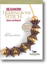Beadwork Herringbone Stitch DVD