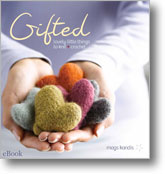 Get fun and simple holiday crochet patterns galore with the Gifted eBook.