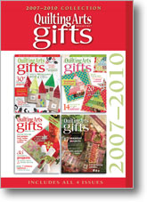 Quilting Arts Gifts 2007-2010 CD Collection