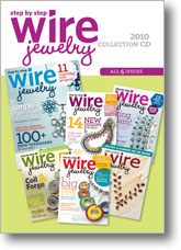 2010 Step by Step Wire Jewelry Collection CD