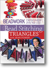 Beadwork Designer of the Year Series: Bead Stitching Triangles with Jean Power
