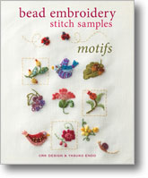 Bead Embroidery Sttich Samples: Motifs