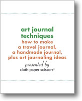 Free Art Journal Techniques eBook!
