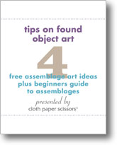 4 Free Assemblage Art Ideas plus Beginners Guide to Assemblages