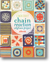 How to Crochet an Afghan: Chain Reaction Crochet Afghan Project
