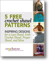 5 Free Crochet Shawl Patterns