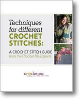Guide to Different Crochet Stitches from Crochet Me!