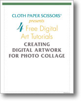 4 Free Digital Art Tutorials: Creating Digital Artwork for Photo Collage