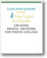 4 Free Digital Art Tutorials: Creating Digital Artwork for Photo Collage