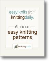 6 Free Easy Knitting Patterns