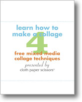 Learn How to Make a Collage: 4 Free Mixed Media Collage Techniques
