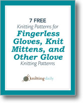 Free Patterns for Knit Gloves.