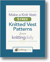 Make a Knit Vest: 5 Free Knitted Vest Patterns