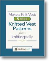 Make a Knit Vest: 5 Free Knitted Vest Patterns