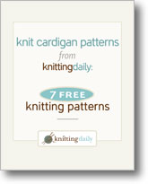 7 Free Knit Cardigan Patterns