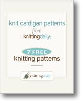 7 Free Knit Cardigan Patterns