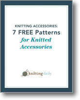 Free Knitting Patterns for Knitting Accessories