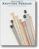Free Guide to Knitting Needles