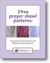3 Free Prayer Shawl Patterns