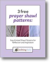 3 Free Prayer Shawl Patterns