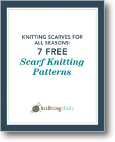 7 Knitted Scarf Patterns
