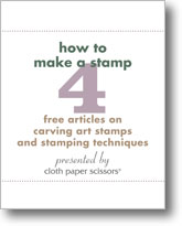 How to Make a Stamp Plus Stamping Techniques