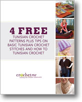 4 Free Tunisian Crochet Patterns