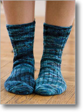On-Your-Toes Socks by Ann Budd