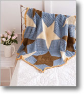 Tunisian Crochet Patterns: Seaside Throw