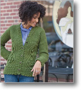 http://www.interweavestore.com/Knitting/Patterns/Braided-Riding-Jacket.html